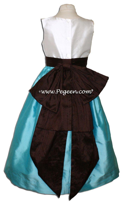 tiffany blue and chocolate brown wedding ideas | Aqua/Tiffany ...