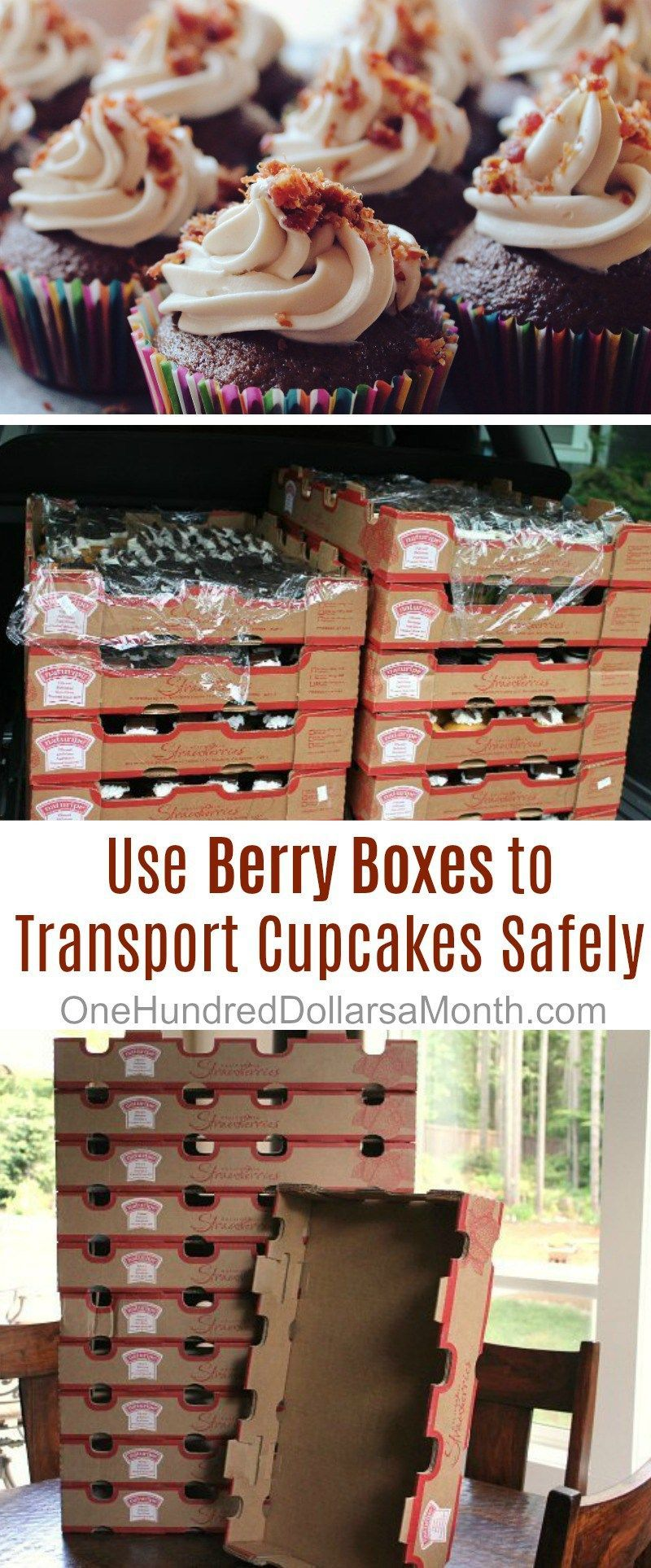 How to transport 600 cupcakes safely one hundred dollars