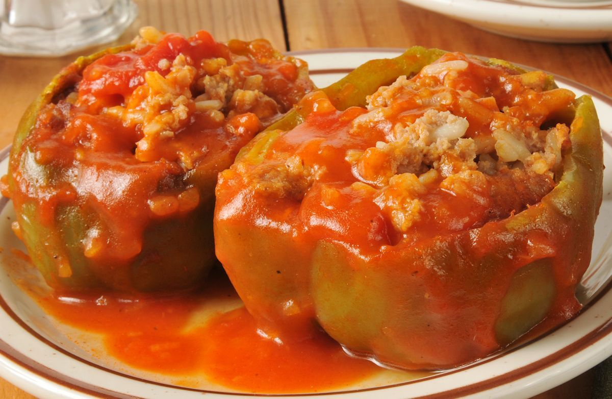 Stuffed Peppers Recipe Recipe Stuffed Peppers Peppers Recipes Italian Stuffed Peppers