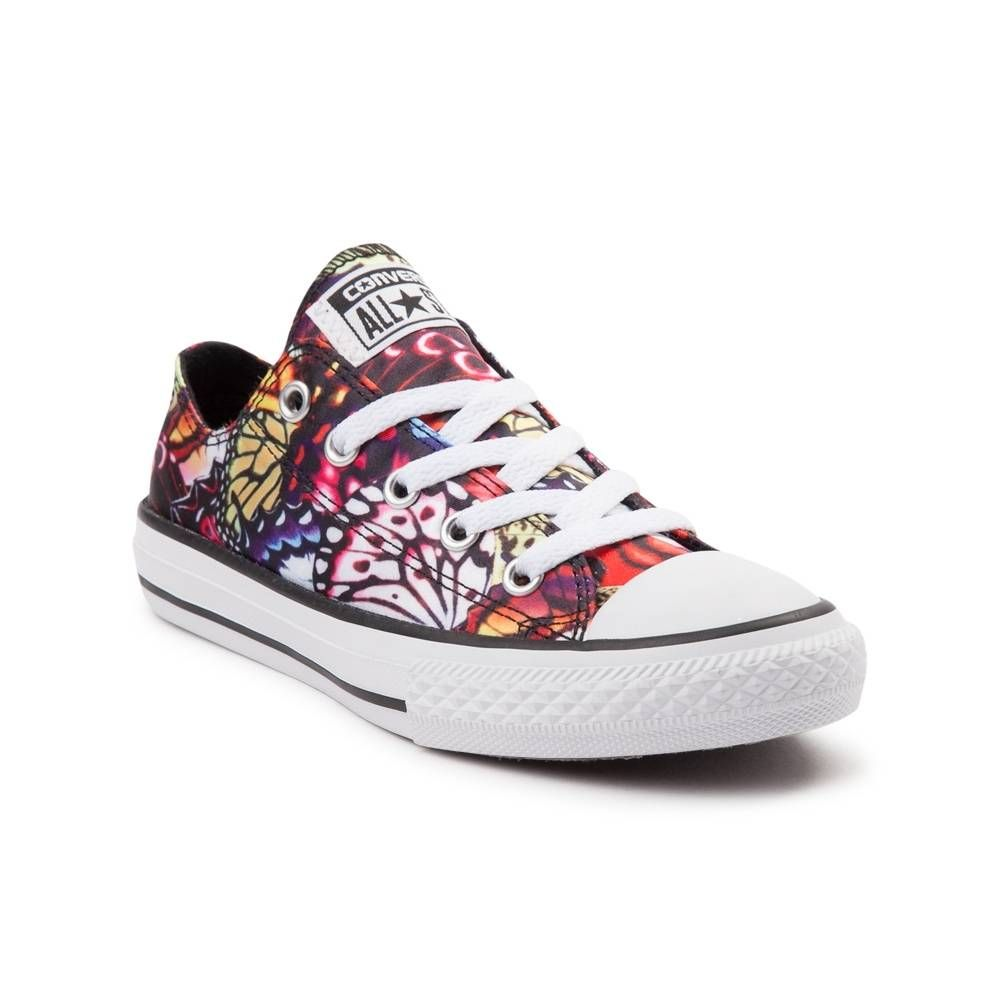 Youth Converse All Star Lo Butterflies Sneaker - Black Multi - 1399487 6081ec321