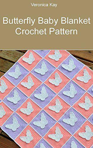 Butterfly Baby Blanket Crochet Pattern | Crochet | Pinterest ...