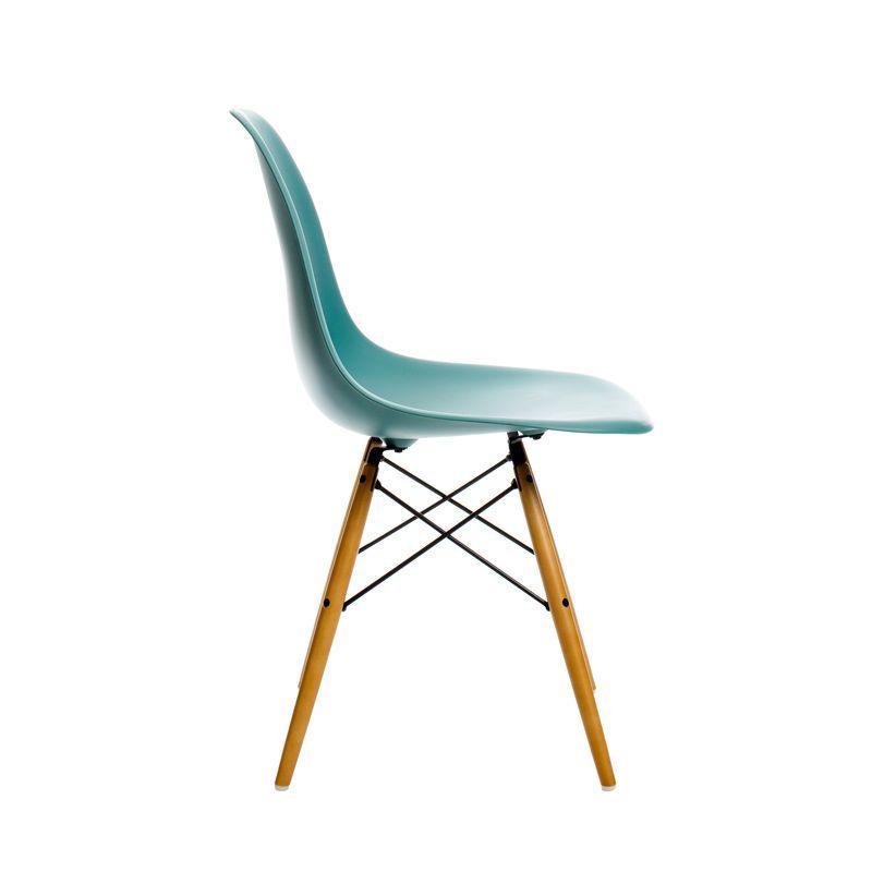 Chaise Vitra Eames Plastic Chair Dsw Pieds Erable Chaises Eames Chaises D Appoint Eames