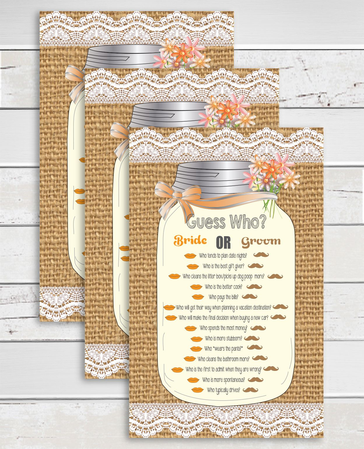 Teal Blank Burlap Lace Background Free A Burlap Lace Orange Tancolors Accent Guess Who Shower Game Lace Orange A Burlap Guess Who Shower Game Lace Background Burlap