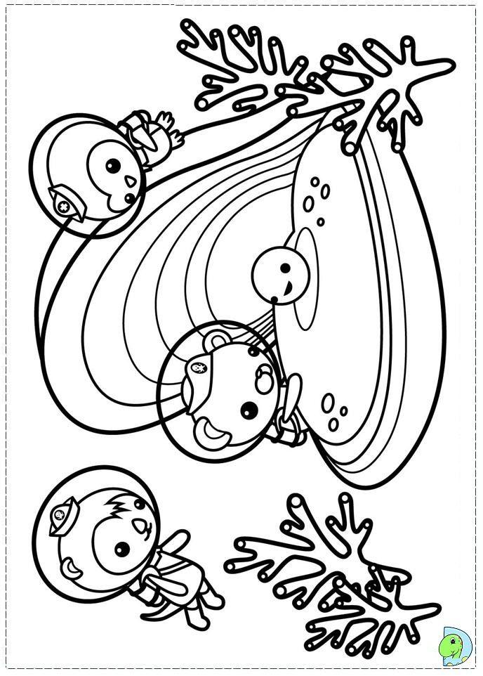 Octonauts-Coloring | Octonauts | Pinterest