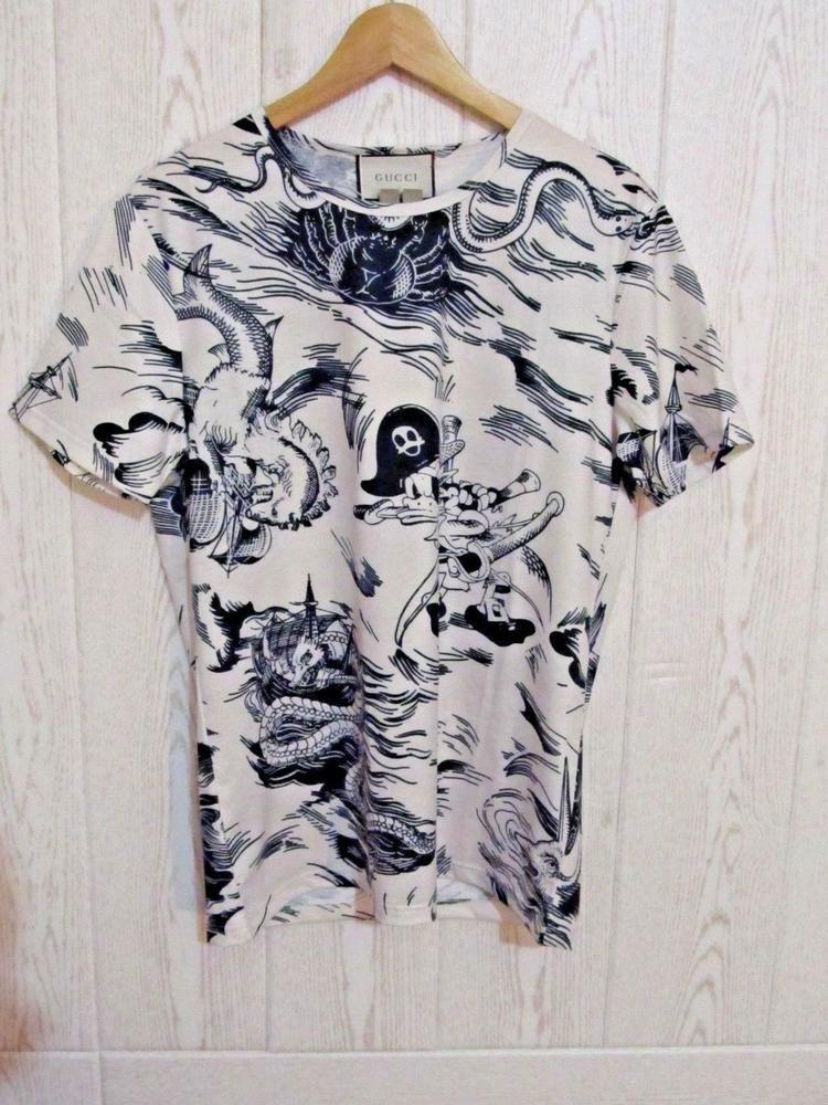 26963420c NWT GUCCI Sea Storm print T-Shirt Size L NEW 2018 #Gucci | Gucci t ...