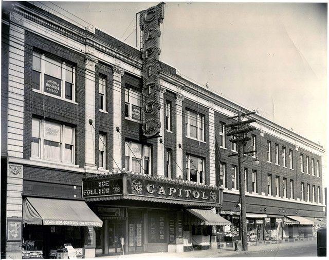 Capitol Theatre In Ansonia Ct Cinema Treasures Ansonia Connecticut History Great Places