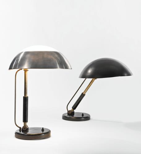 Karl Trabert Germany 1934 Adjustable Table Lamps Table Lamp Lamp