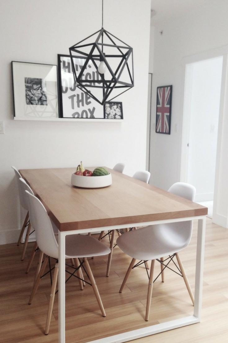 Scandinavian Kitchen Design Five Keys To Understand It Small Dining Room Decor Dining Table Design Dining Room Wall Color