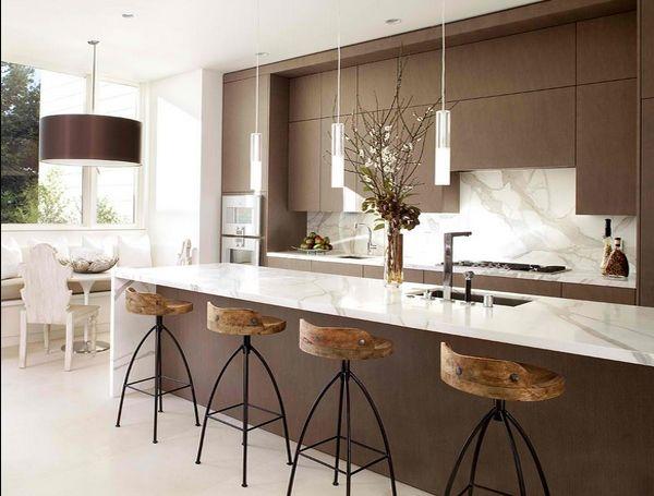 55 Gambar Meja Dapur Minimalis Keramik Granit Kayu Dll Desainrumahnya Apartment Pinterest Apartments