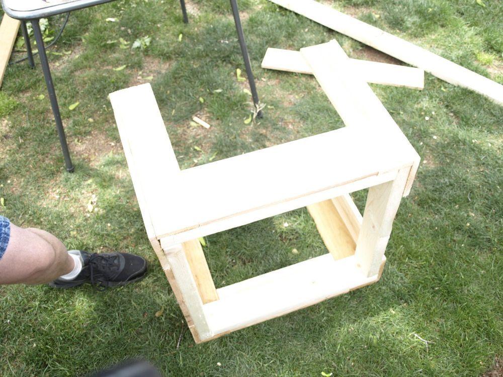 Best Diy Cedar Galvanized Roofing Deck Box Roof Panels 400 x 300