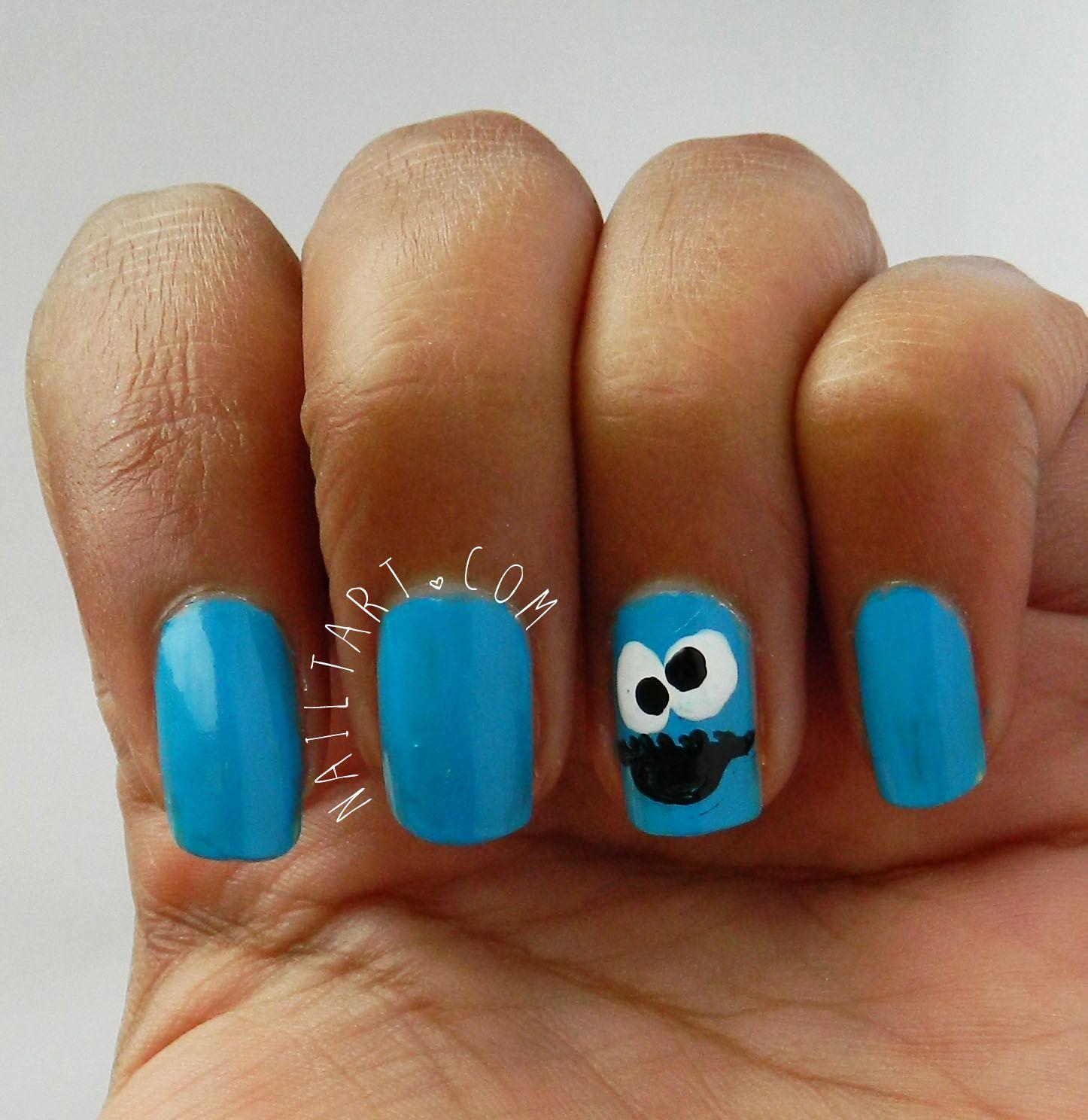 Nailtart A Nail Art Blog Nails Blue Nail Art Hipster Nails