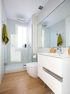 Photo of How to furnish a narrow and long bathroom (from A to Z)