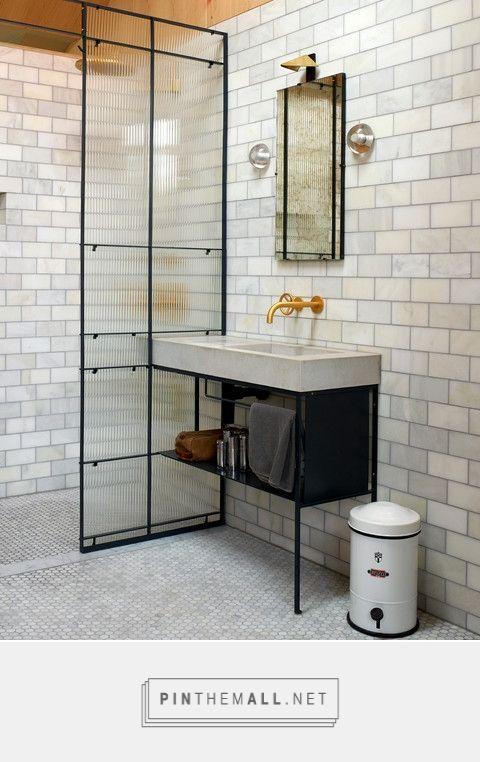 parete doccia e lavabo in pietra Bagno, Bagno