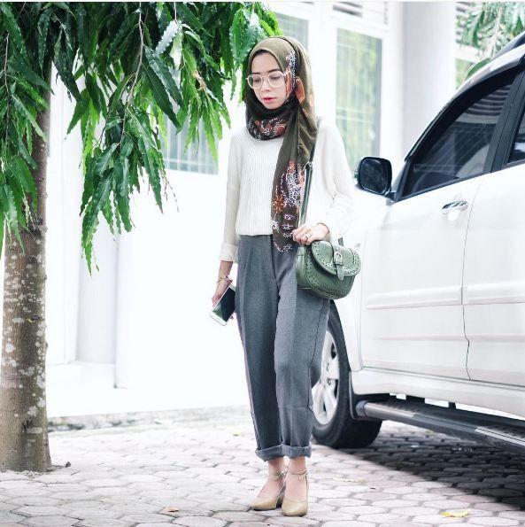 Celana Style Kondangan Hijab Casual