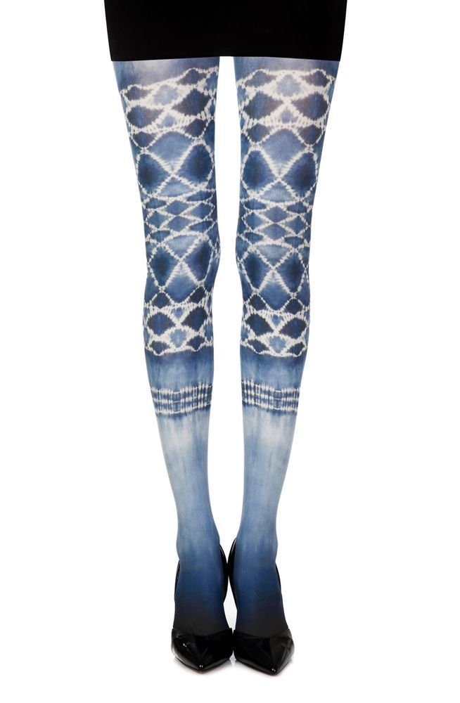 Shop For Lingerie Tights Womens Hosiery Zohara Sea World White Custom Women's Patterned Tights