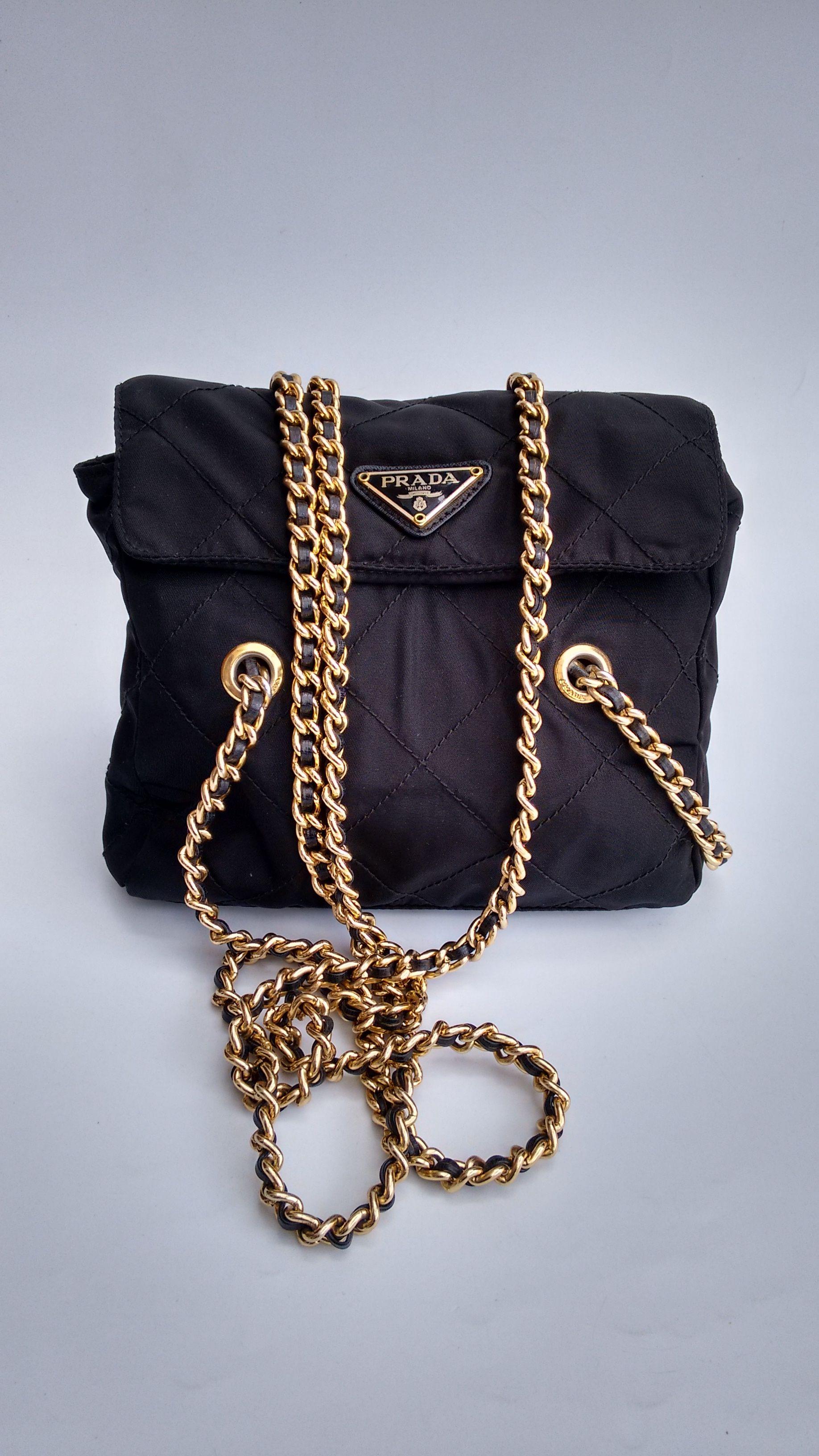 Prada Bag Tessuto Shoulder Tote
