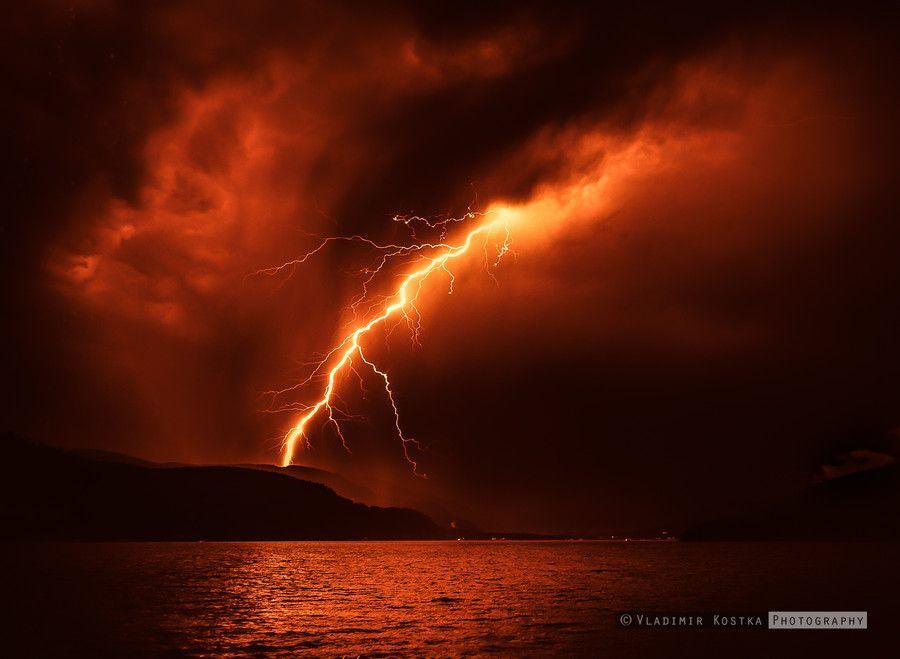 Photo Sky on Fire by Vladimir Kostka on 500px