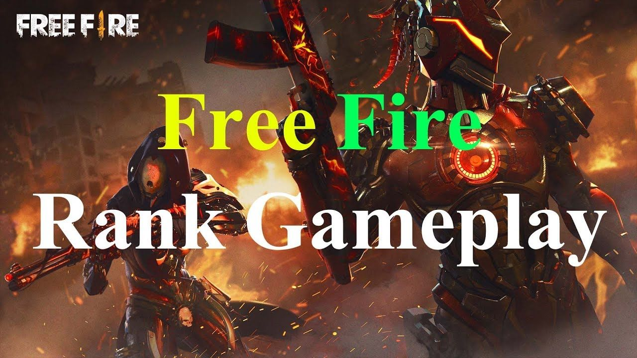 Free Fire Rank Squad Match Garena Free Fire In 2019 New