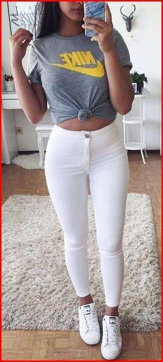Coole Outfits für Teenager-Mädchen #teenagegirlclothes