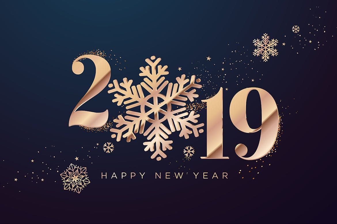 Happy New Year 2019 by PureSolution on Happy new year