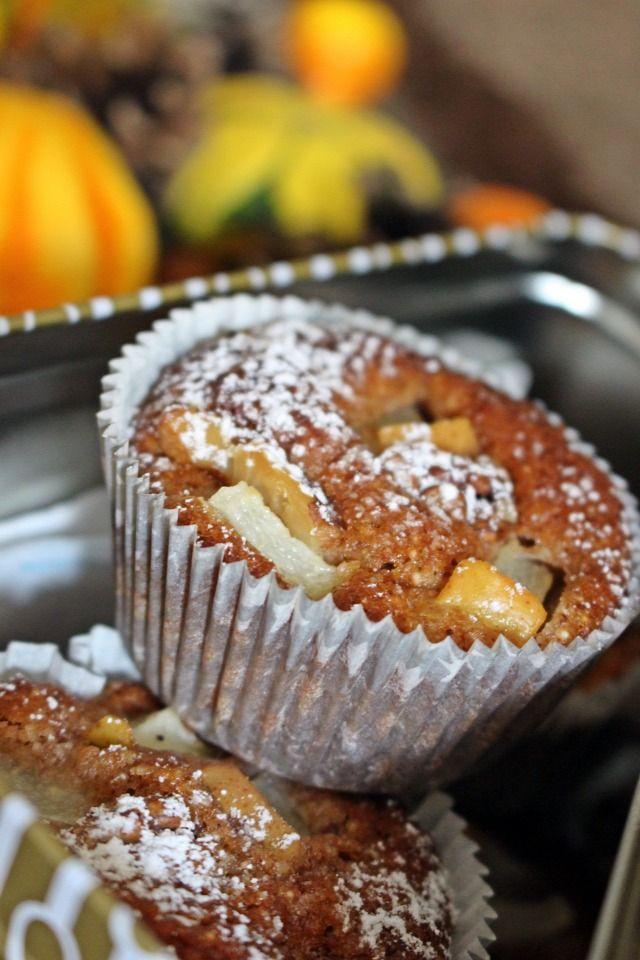 Fűszeres körtés muffin | Muffin, Ételek és Desszertek