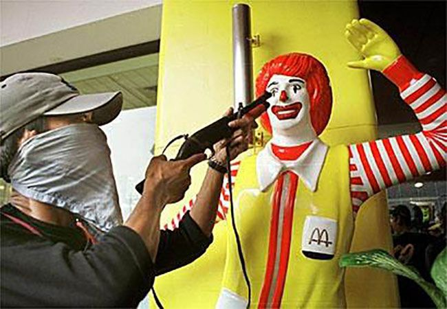 I hate you ronald mcdonald