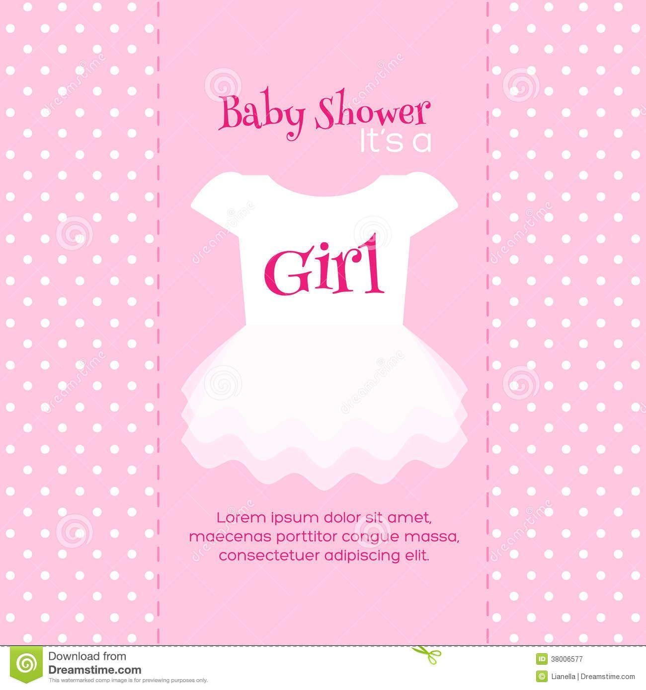 Design Free Printable Baby Shower Invitations For Girls