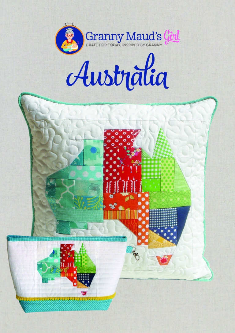 Australia Paper Piecing Pattern Dear Jane Quilt