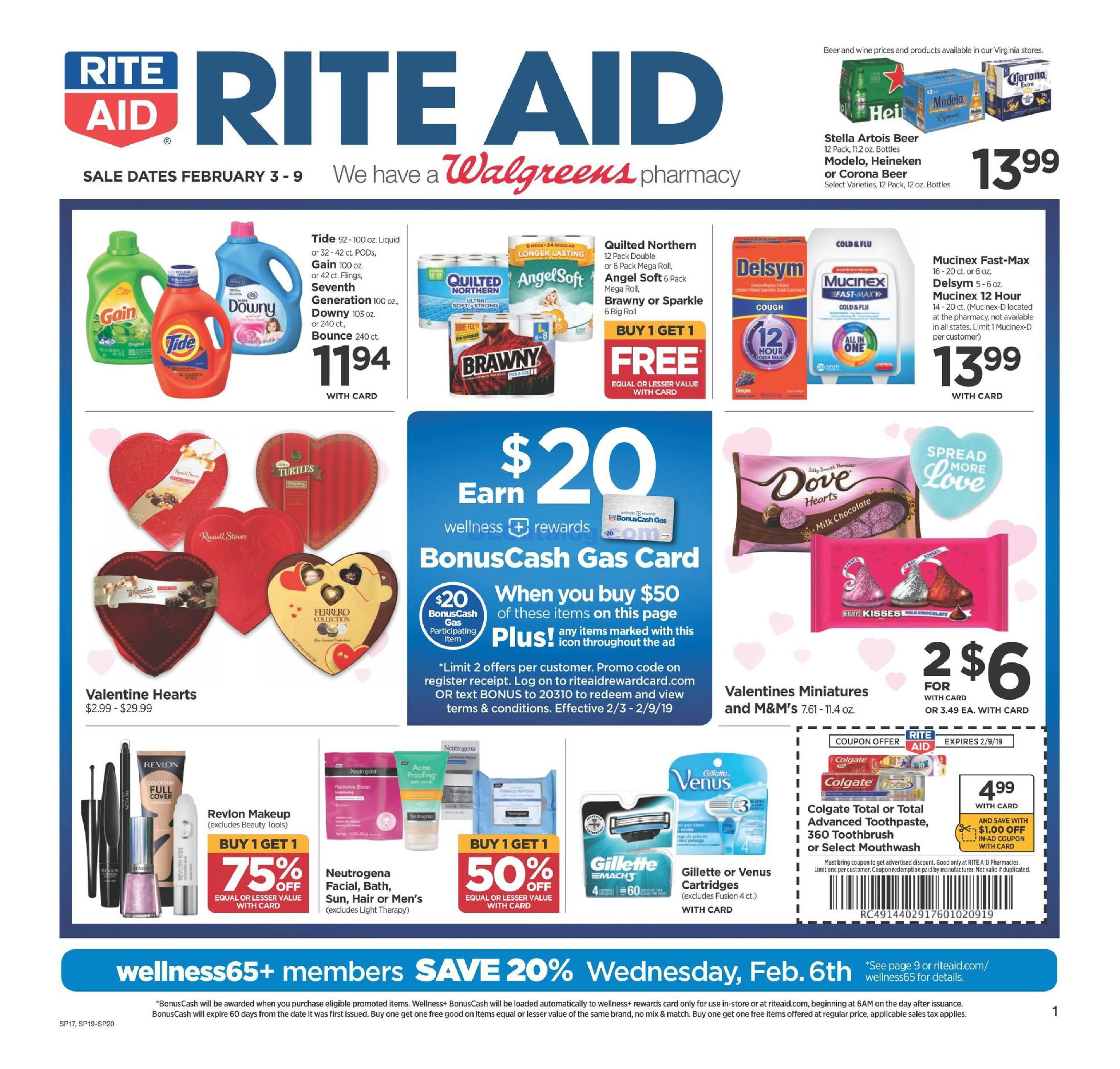 Rite Aid Weekly Ad February 3 9 2019 Do You Know What S In And What S Hot In The Rite Aid For This Week If You Haven T Using The Weekly Ads Rite Aid Ads