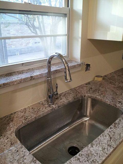 Granite On Window Sill Kitchen Window Sill Window Sill