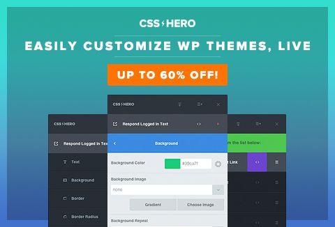 WordPress Visual Editor Plugin: CSS Hero | Editor and Wordpress