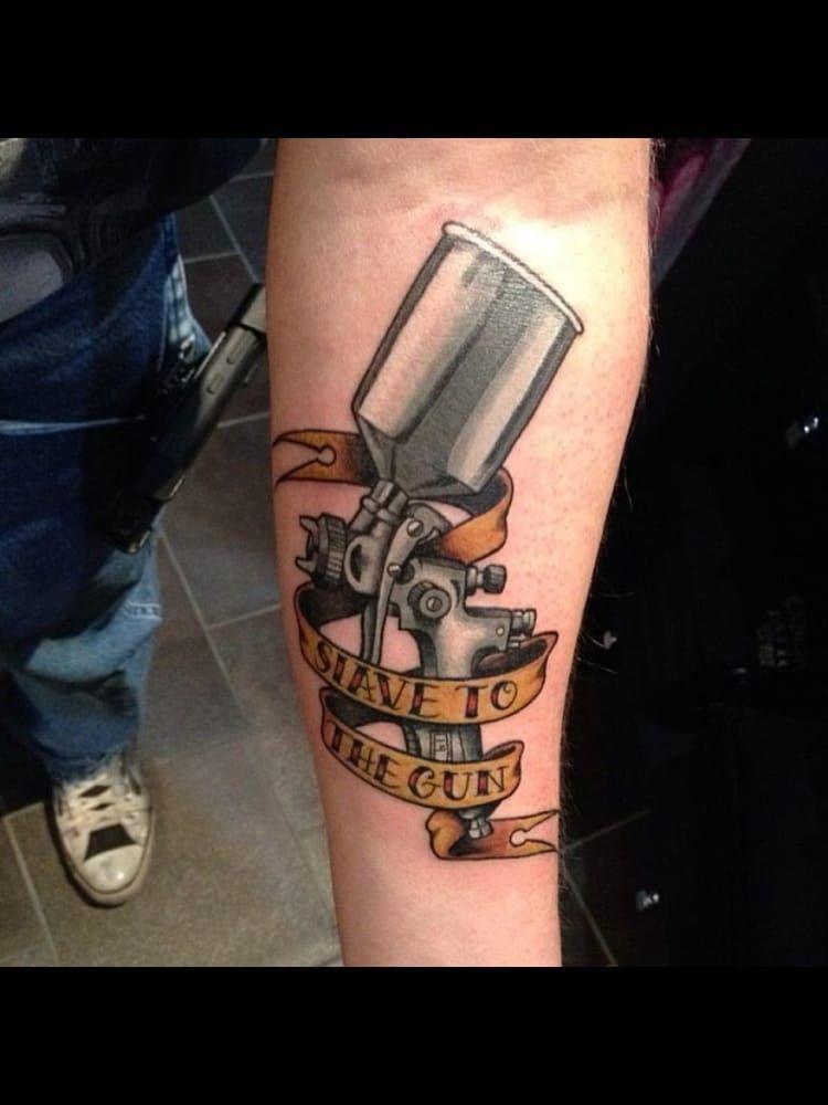 3ca18995a PAINT GUN BY TRAVIS JAMES - Yelp | Tattoo stuffs. | Tattoo designs ...