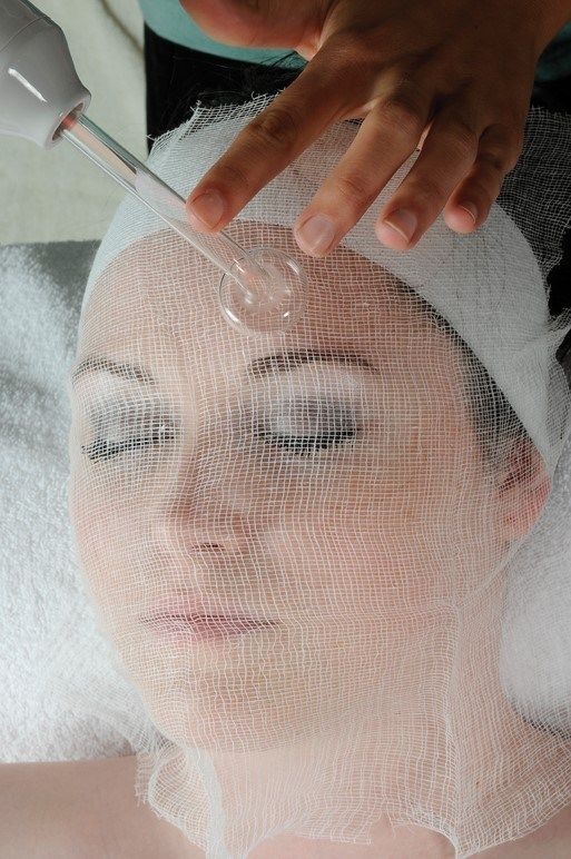High Frequency Skin Treatment #skintreatments