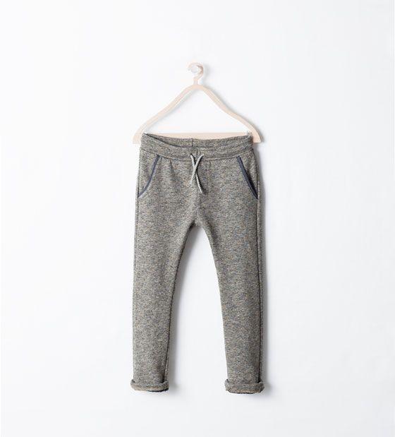 ZARA - ENFANTS - Pantalon en molleton