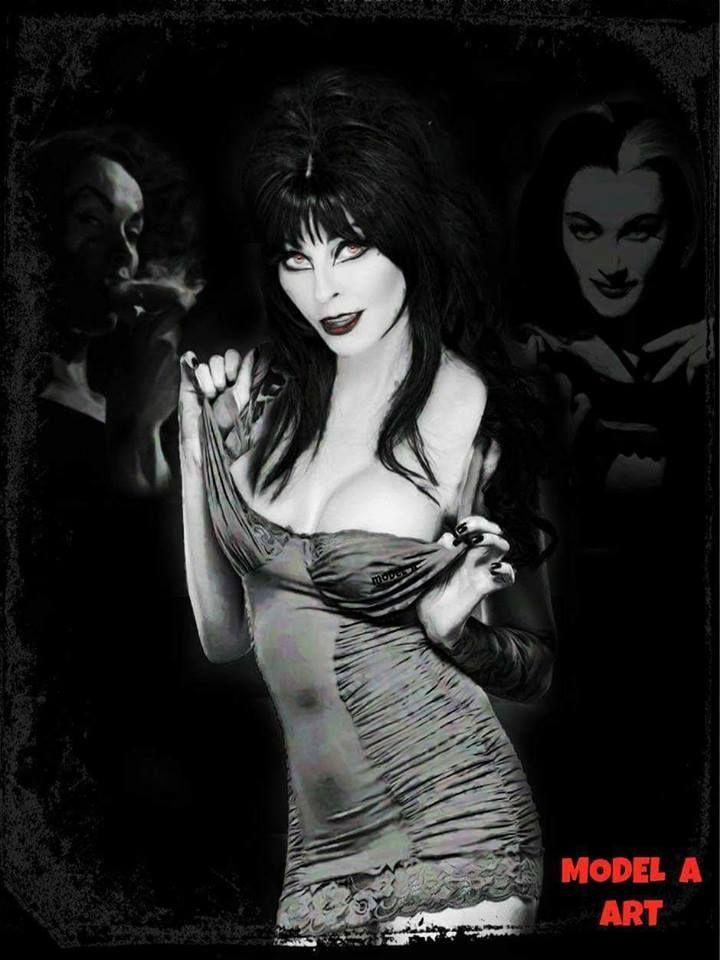 Cassandra Peterson Elvira illustration Cassandra