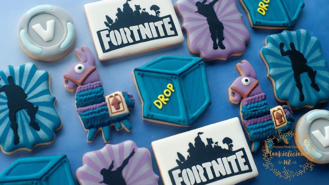Fortnite cookies part 2 how to make loot llama supply