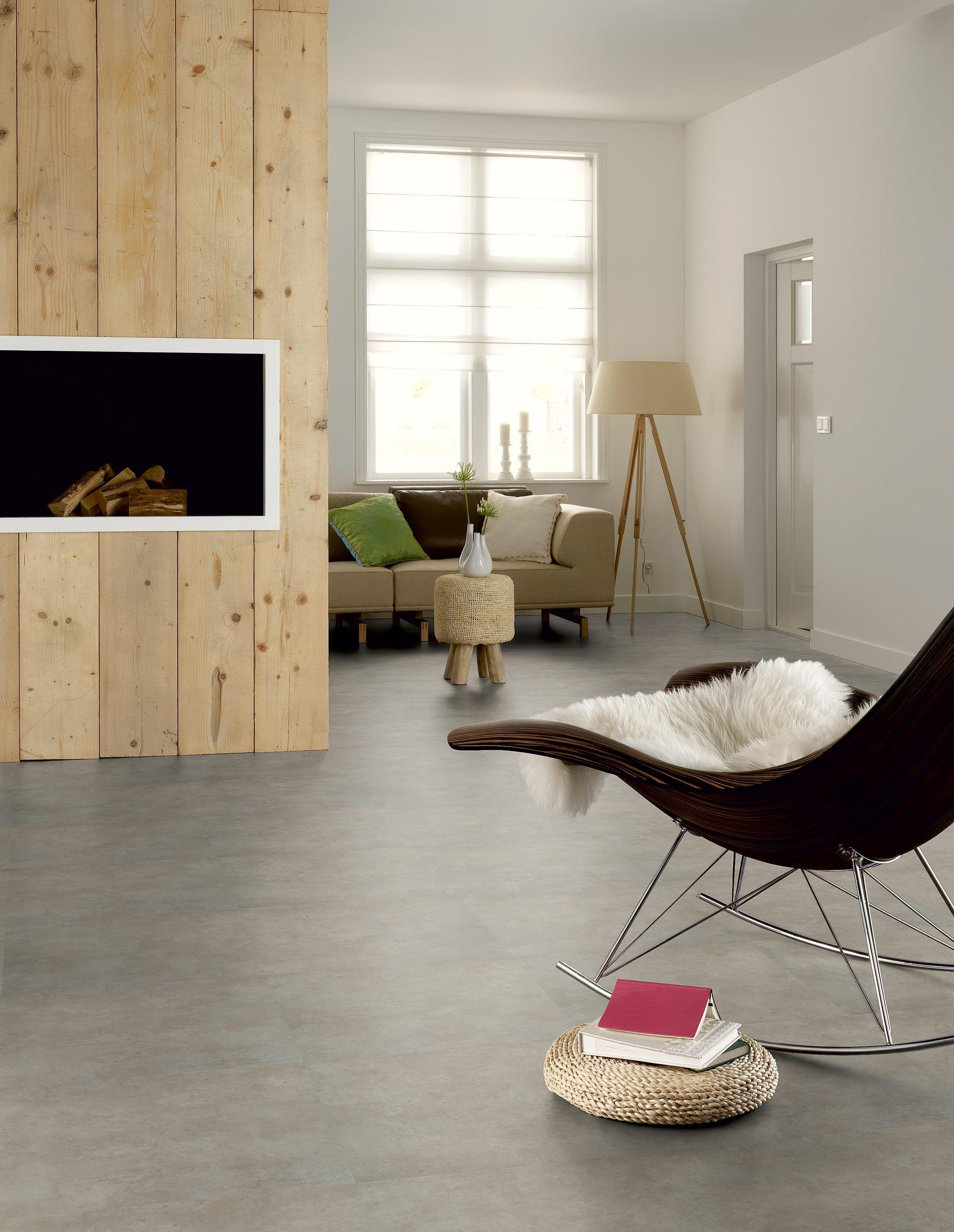 floor novilon pvc stroken in zacht beton pvc vloeren. Black Bedroom Furniture Sets. Home Design Ideas