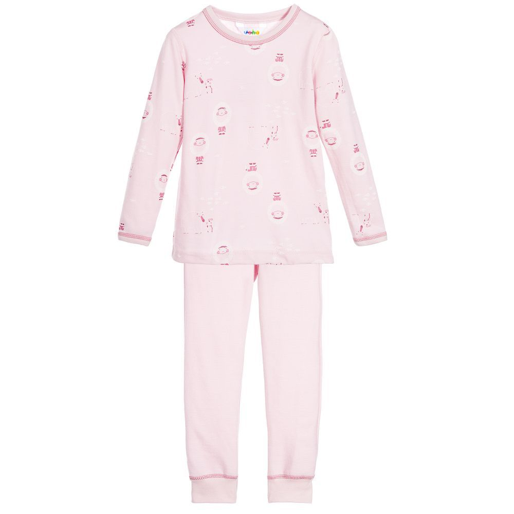 778a2e4f0a9f5 Wool & Organic Cotton Pyjamas | BABY GIRL | Cotton pyjamas, Organic ...