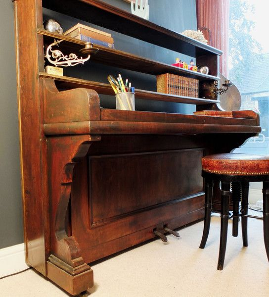Converted Upright Piano