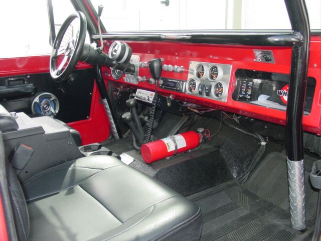 Customized 1971 Ford Bronco Interior Built By Hotrodsonny Ford
