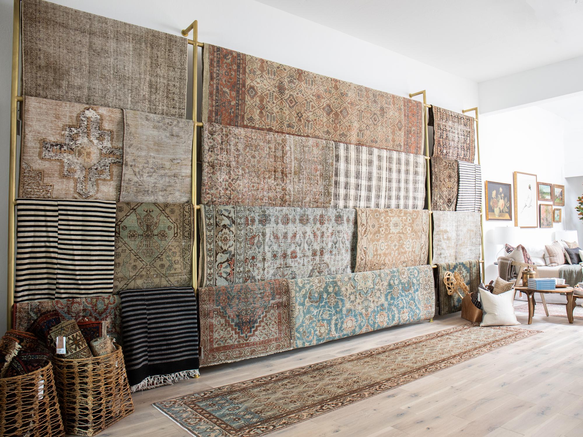 vintage rug shop