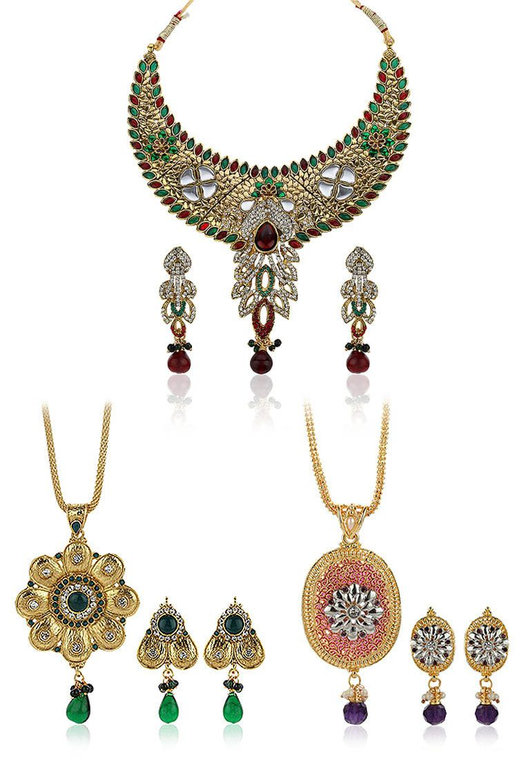 Sia art jewellery necklace set pendant sets women fashion