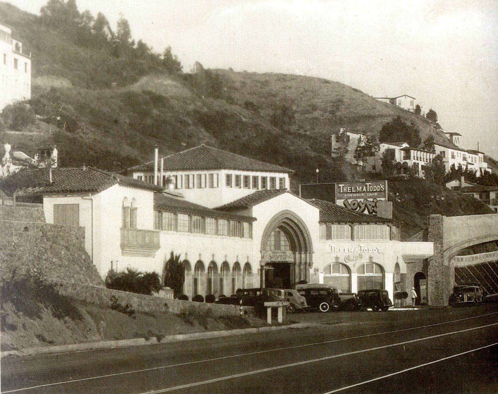 thelma todd u0027s cafe castellammare pacific palisades california