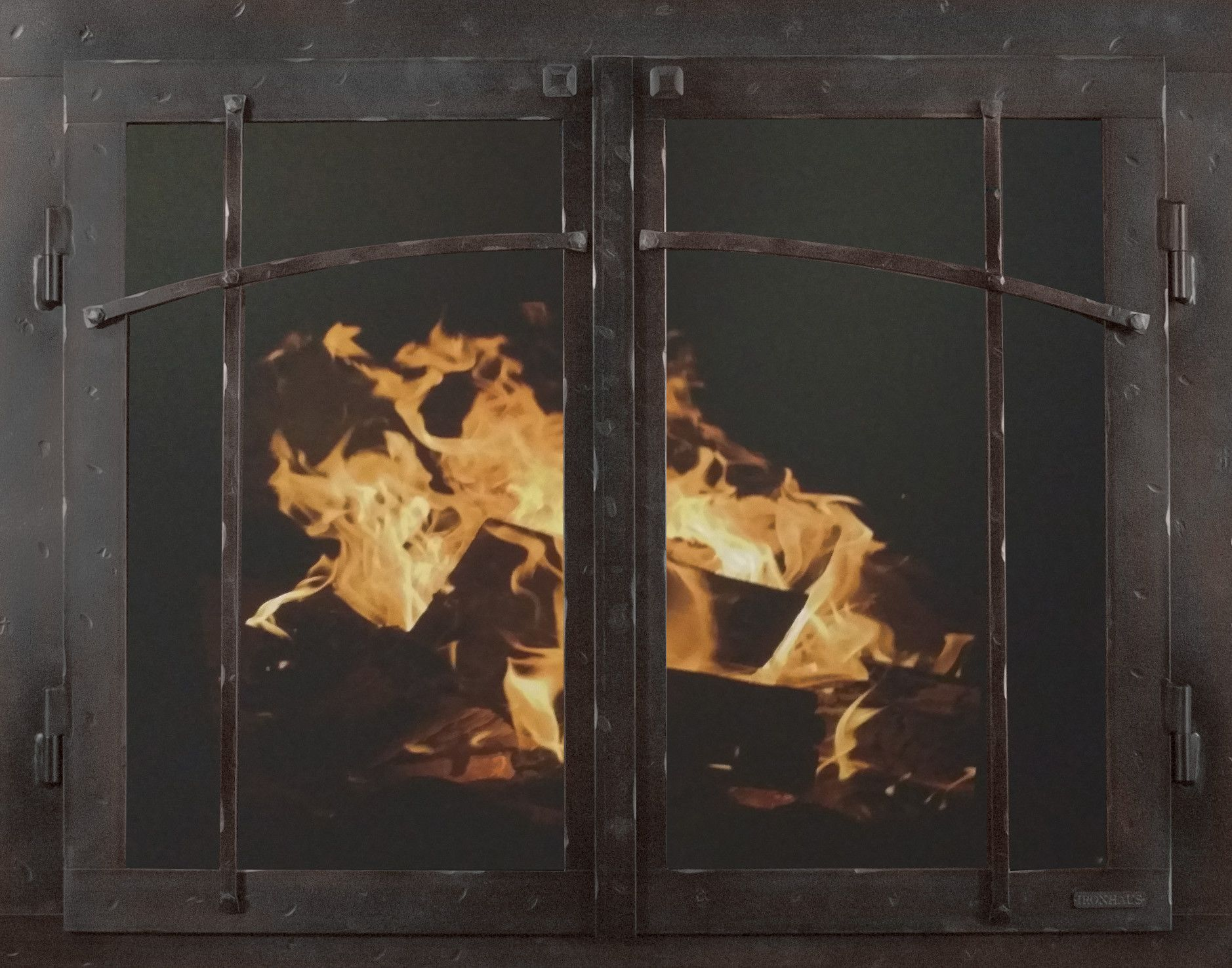 mountain series fireplace glass door products pinterest
