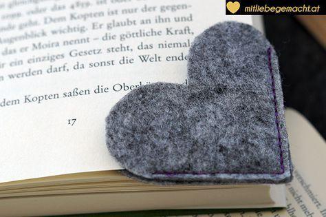 Last Minute Geschenke: Lesezeichen nähen | Mit Liebe gemacht