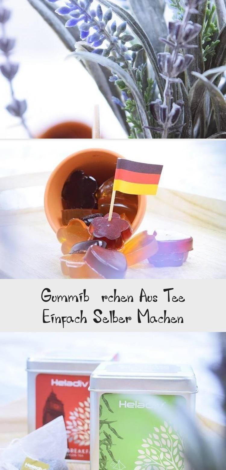 Simply make gummy bears from tea  - Schnell - #Bears #Gummy #schnell #SIMPLY #Te...  - Healt and fit...