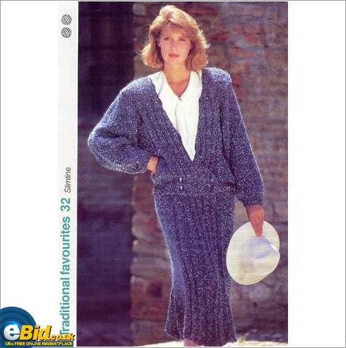 Mohair Sweater Skirt Knitting Pattern 32 Patterns On Ebid United
