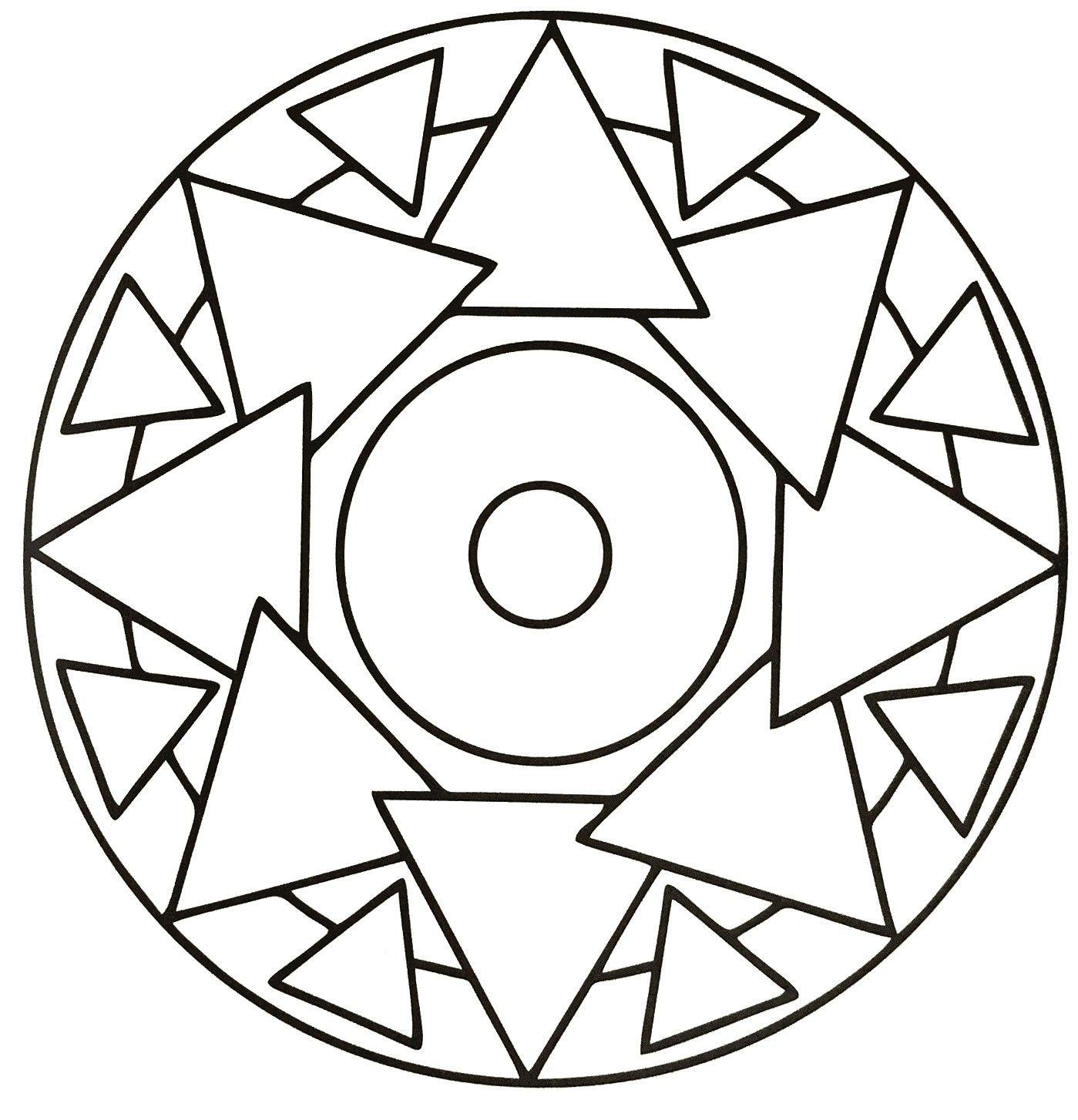 Mandalas for Kids Mandala coloring pages, Kids printable