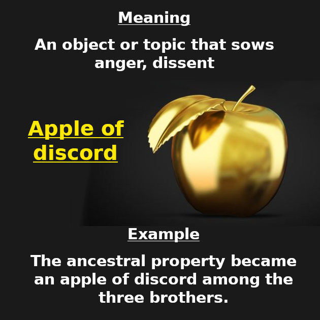 discord meaning in english
