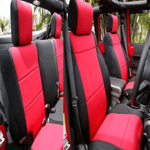 Jeep Wrangler Jk Neoprene Seat Covers Jeep Seats Neoprene Seat